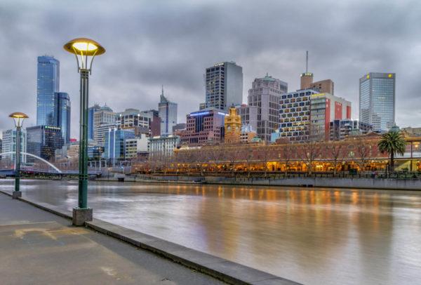 Melbourne-Yarra-River-Dusk