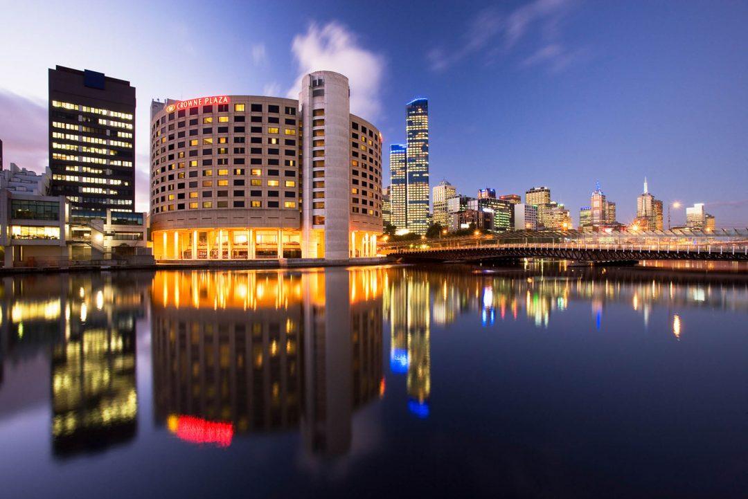 Exterior-Dusk-Hero-Crowne-Plaza-Melbourne