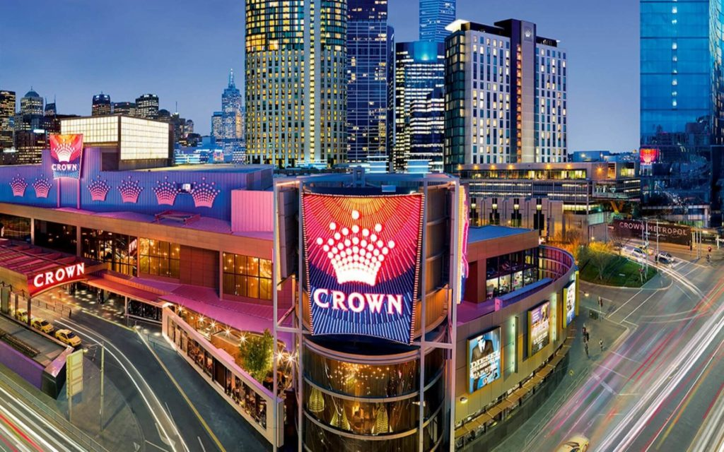 Crown entertainment complex Melbourne