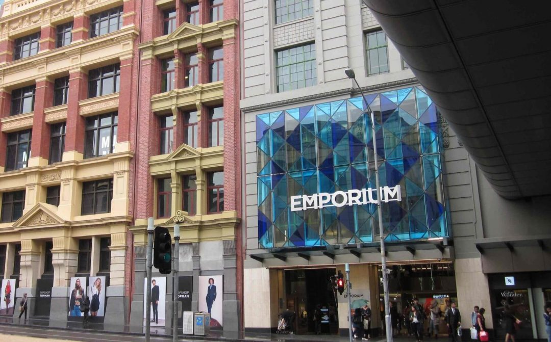 Emporium Shopping in Melbourne