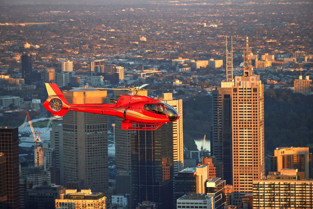 Melbounre City Helicopter Rides