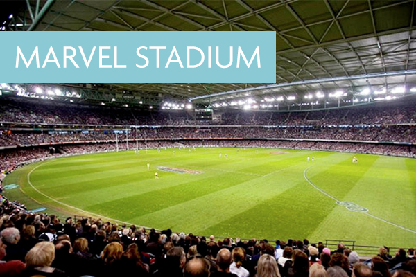 Marvel Stadium - Walking Distance From Crowne Plaza Melbourne