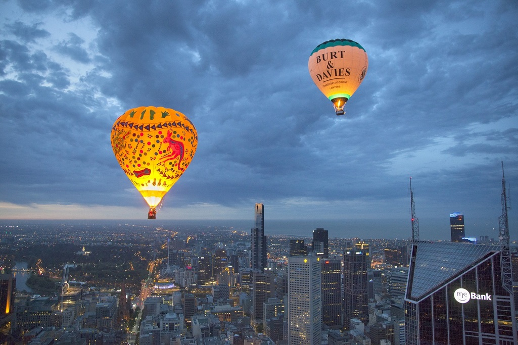 Hot Air Balloon Melbourne