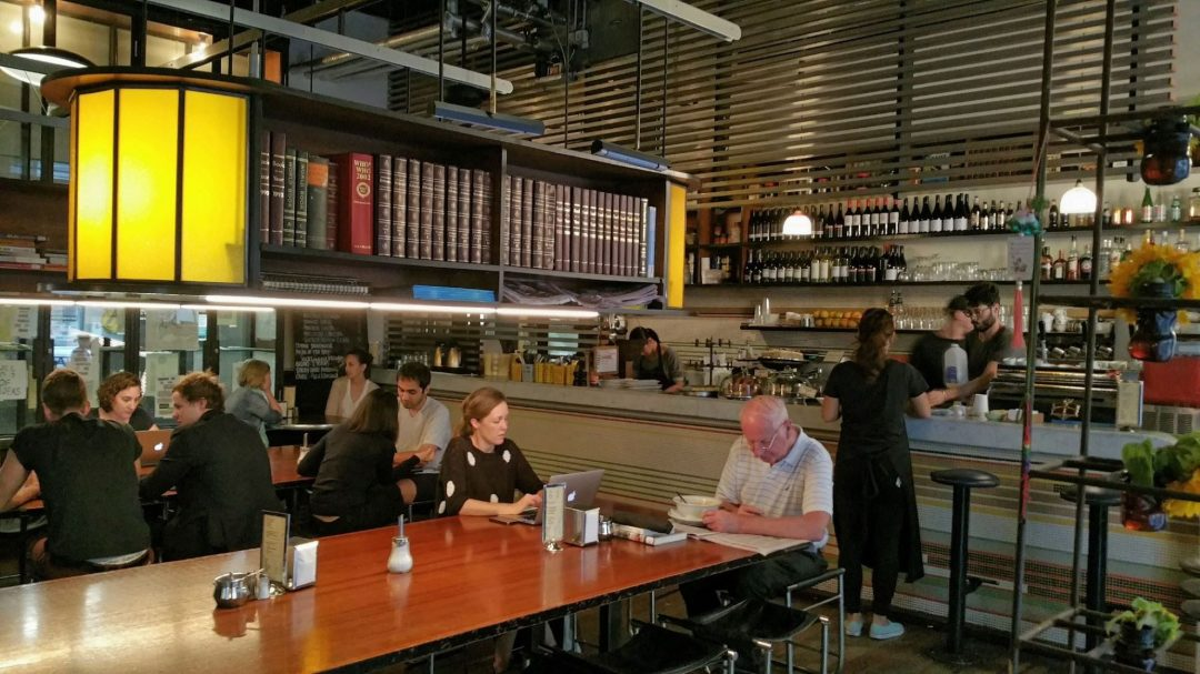 The Journal Cafe in Melbourne