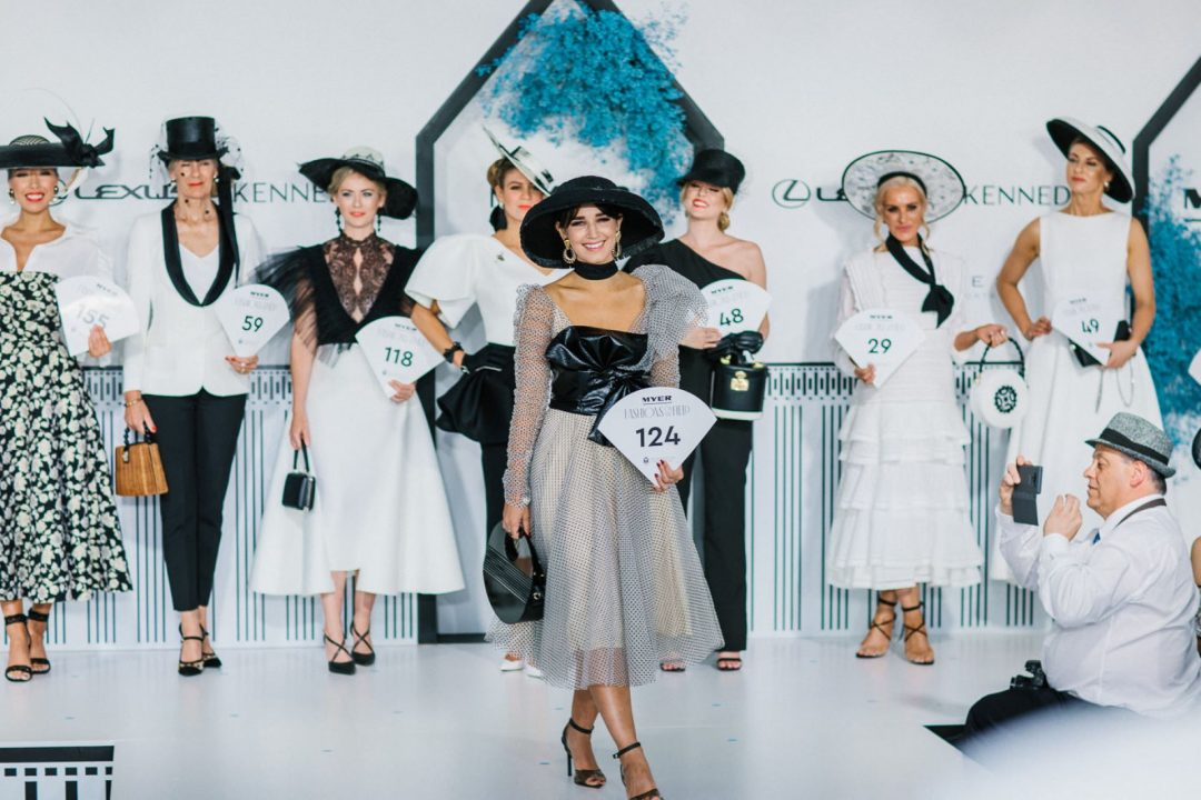 Derby day fashion at Melbourne Cup Festival