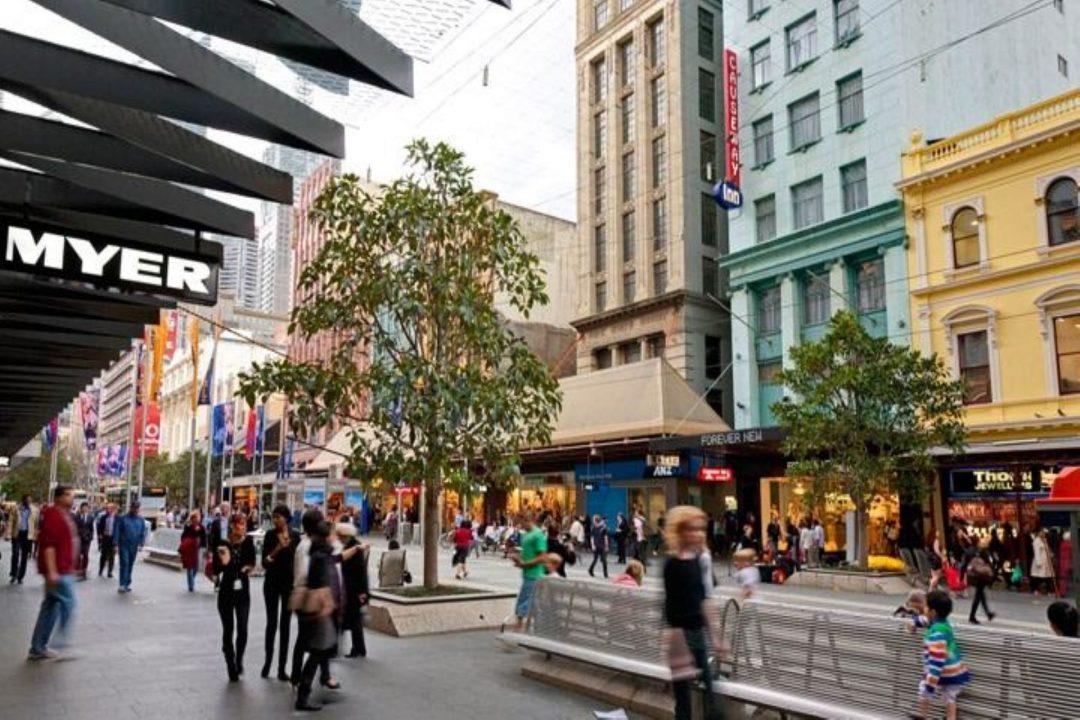 Bourke Street Mall Shopping Melbourne