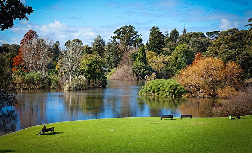 melbourne park / garden