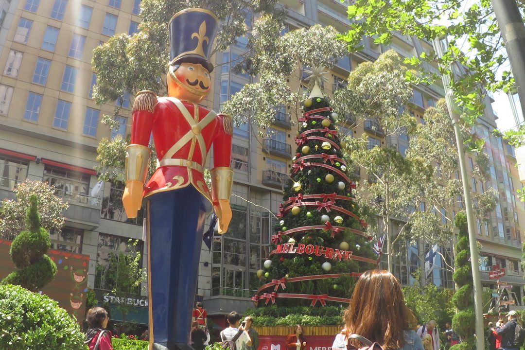 Christmas Soldier Christmas Decorations Christmas in Melbourne near Crowne Plaza Melbourne