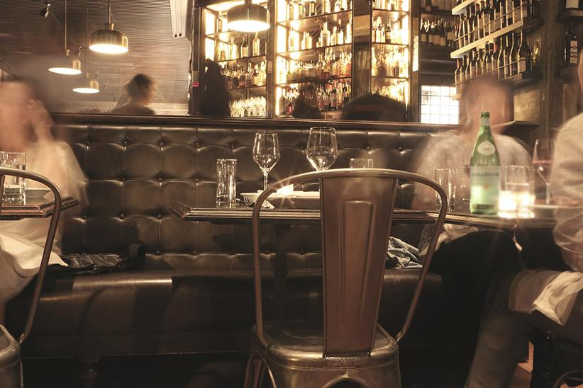 Sepia image of a Hidden Bar Melbourne