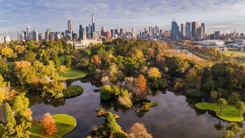 royal botanic gardens vic
